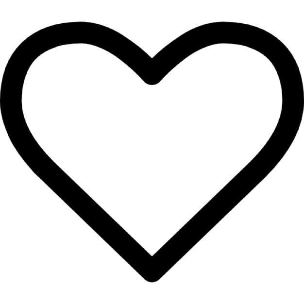 Heart Outline Vector  Download 1000 Vectors Page 1