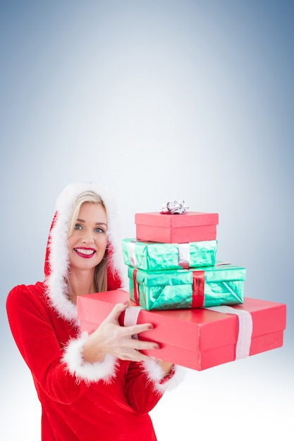 Три блондинки и подарок 34