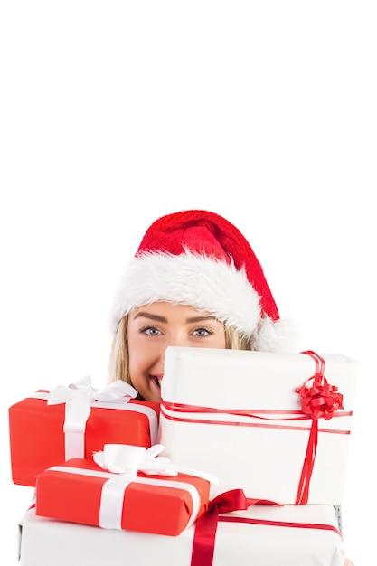 Три блондинки и подарок 85