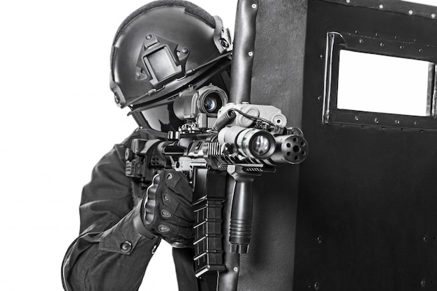 Vector Patrol Shields  Life Saving Compact Shields
