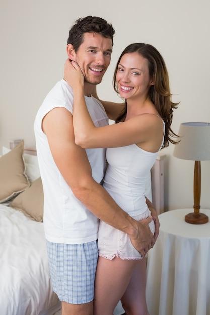 Guy abd girl share cock
