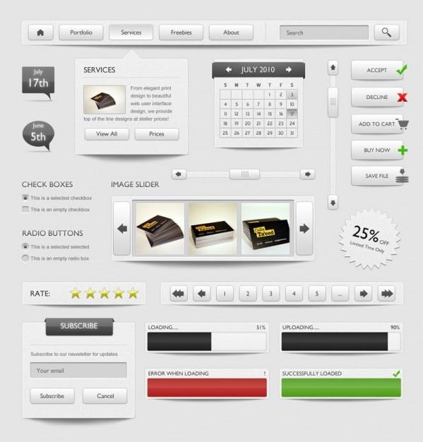 Дизайн сайта элементы