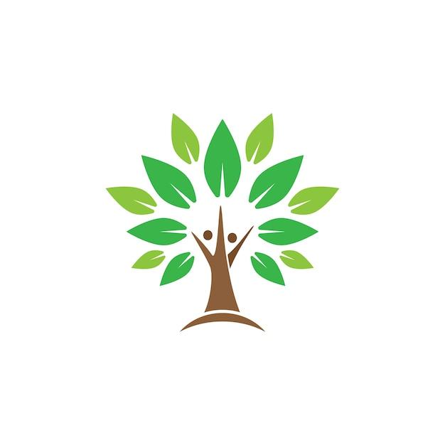 Free tree logo design