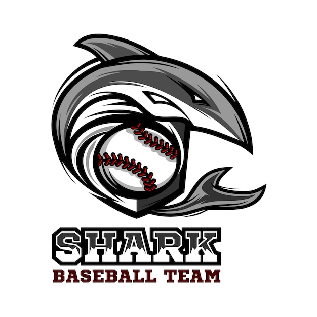River sharks baseball logo