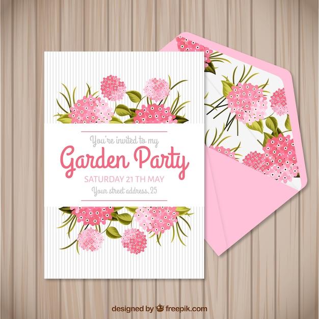 Garden party invitation templates stopboris Images
