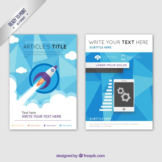 Company brochure template business brochure template vector free download wajeb Images
