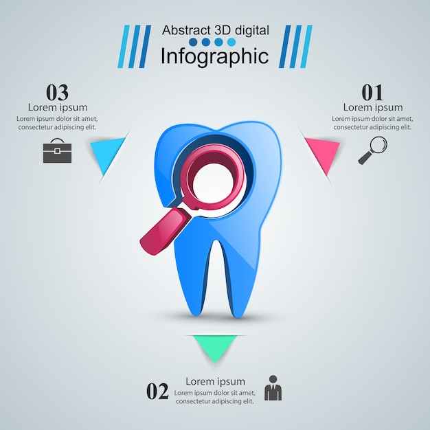 Business infographics vector free download