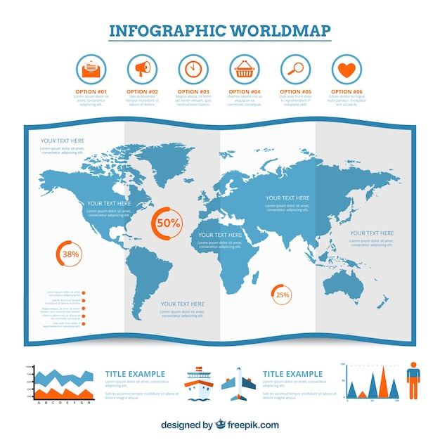 Map infographic examples