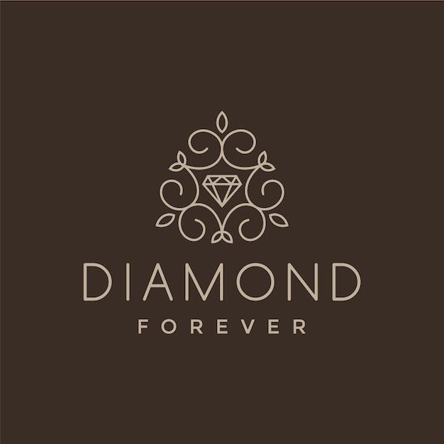 Diamond logo design Vector  Free Download