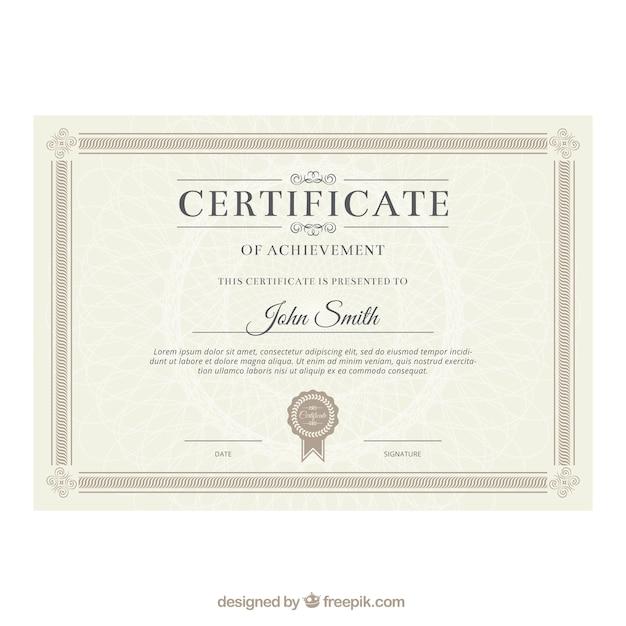 elegant certificate templates .