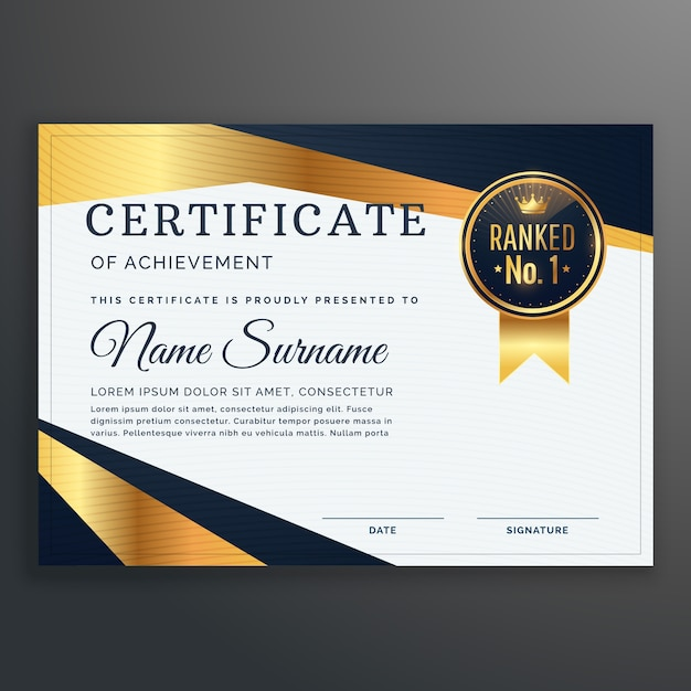 Free Certificate Templates  Certifreecates