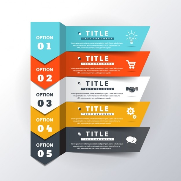 Infographics design psd free download