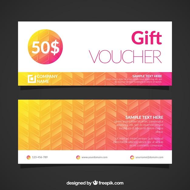 voucher templates free download .
