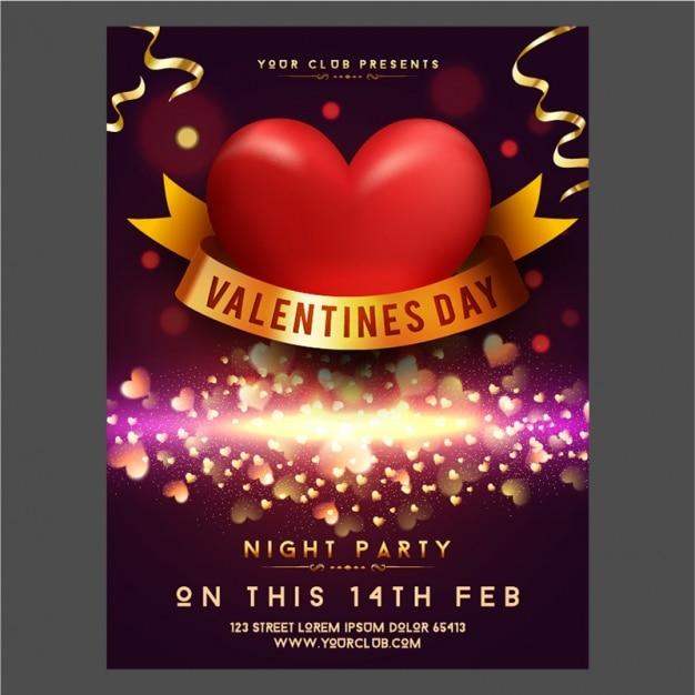 Glittering valentine