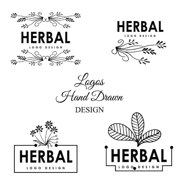 Hand drawn decorative buntings Vector  Free Download