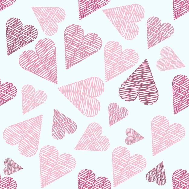 Amusing love pattern vector pictures