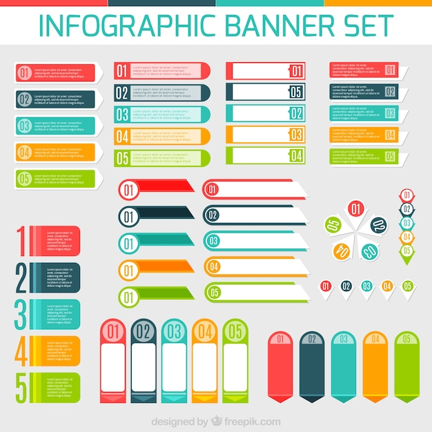 Infographic free vector download 5420 Free vector for