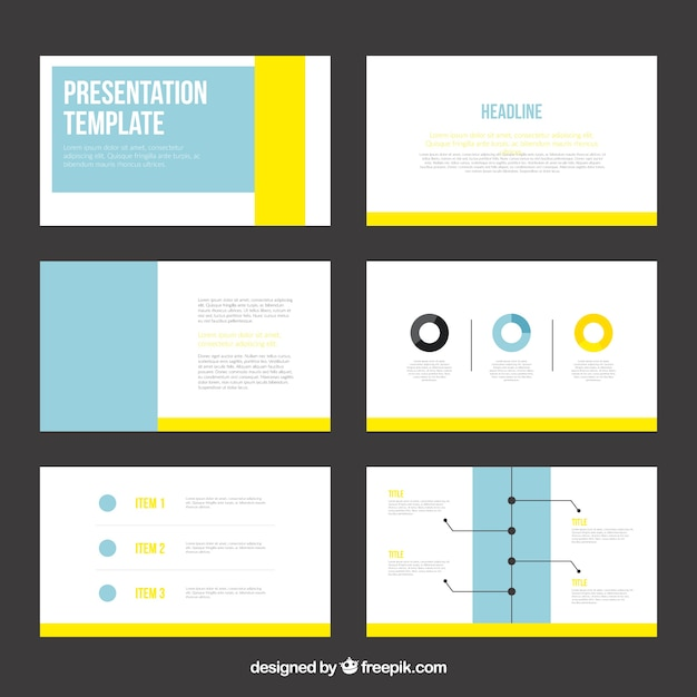 Infographic vector template download