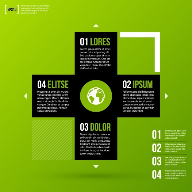 Free infographic design template