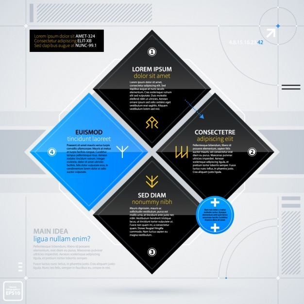 Infographic template Vector  Free Download