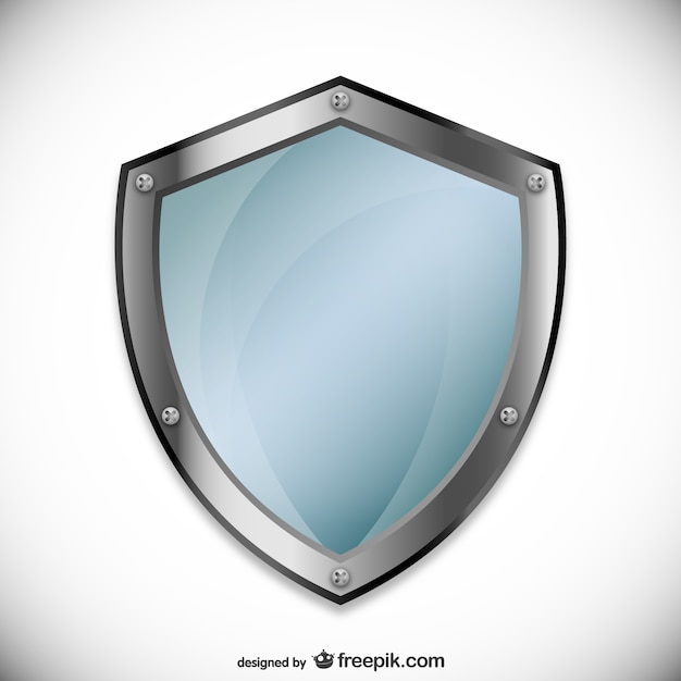 Awesome shield vector psd images