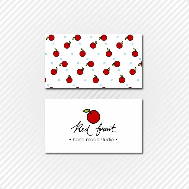 Apple Business Card Templates
