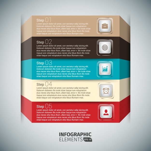 Adobe illustrator infographic templates