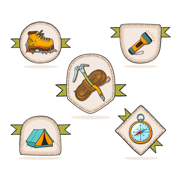 Hiking Vector Images Stock Photos amp Vectors  Shutterstock