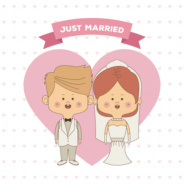 Жених и невеста открытка 63