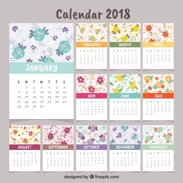 Красивый календарь на ноябрь 2018 года - скачать, распечатать