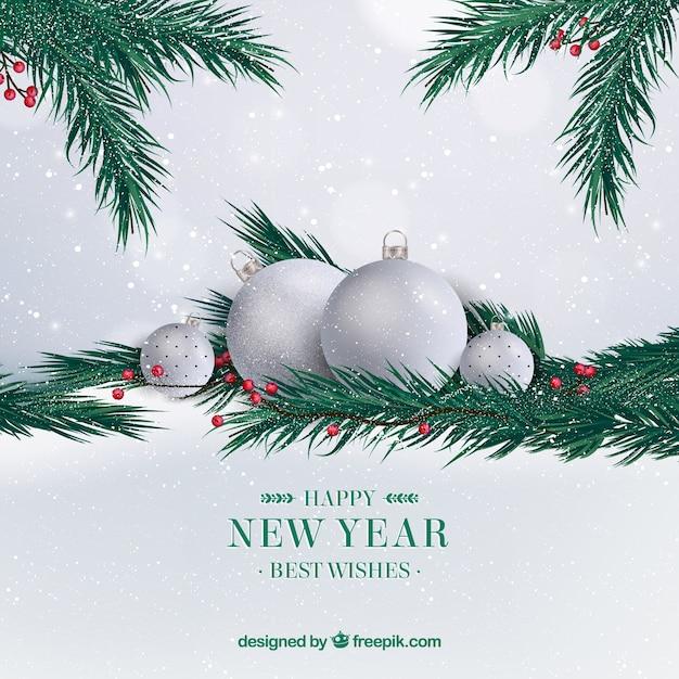 Серебро на новый год 2018
