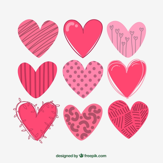 Heart vector freepik