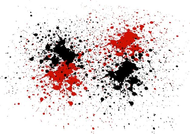 Как белым на красном сделать чёрное пятно 997