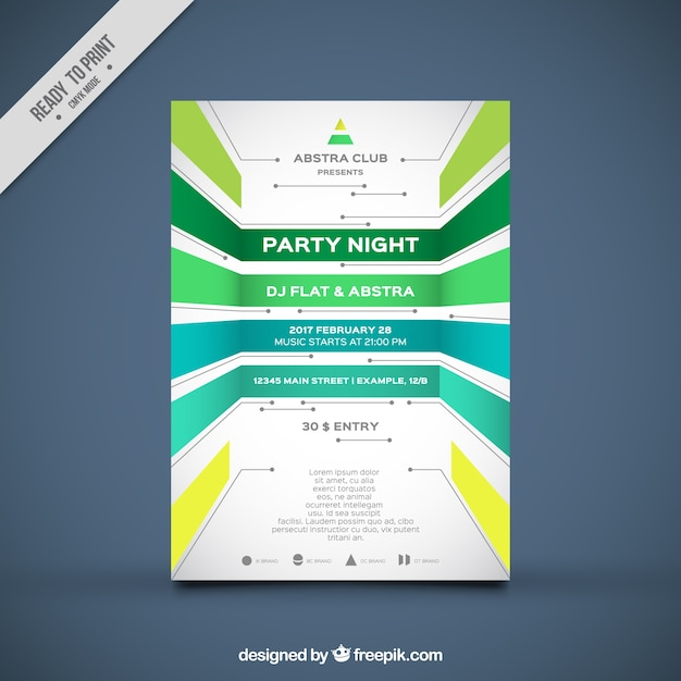 Poster design templates free