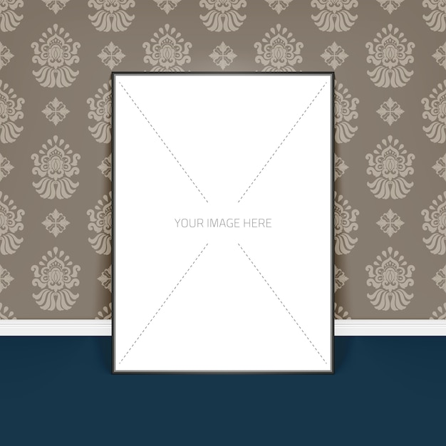 Template poster paper
