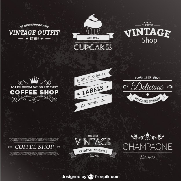 The Eclectic Vintage Design Library 98 Off!  Design Cuts