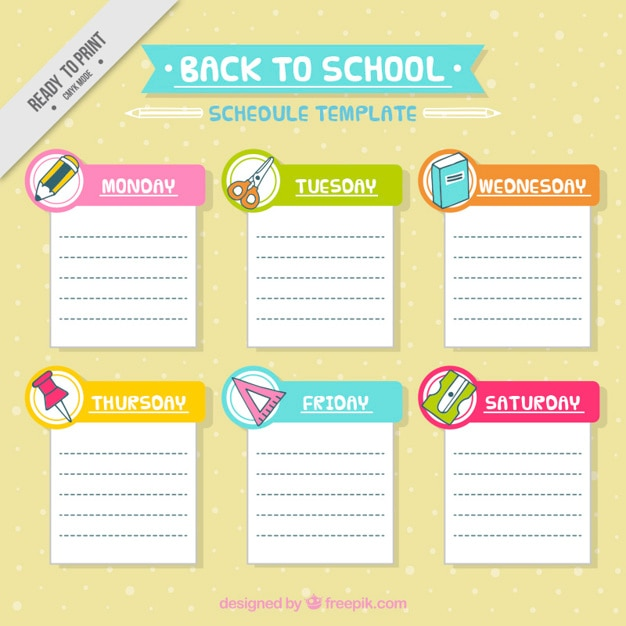 School absence note template free