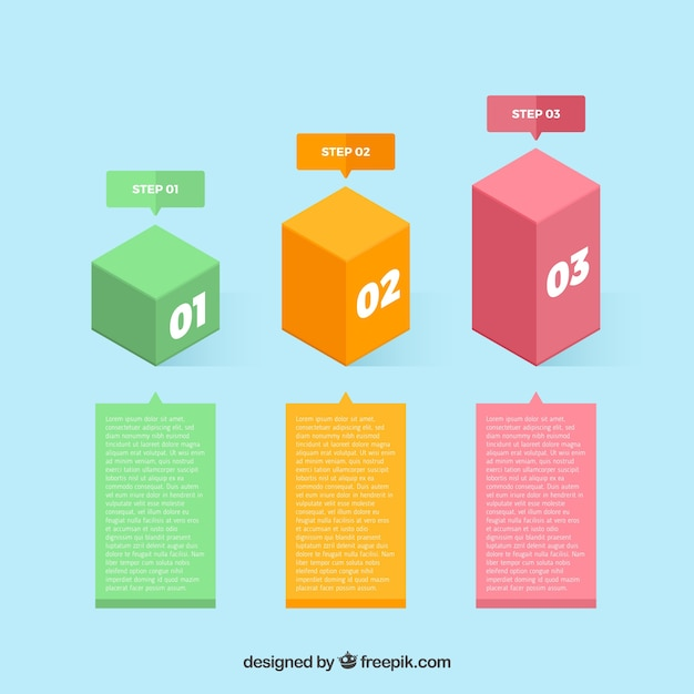 Infographic psd files