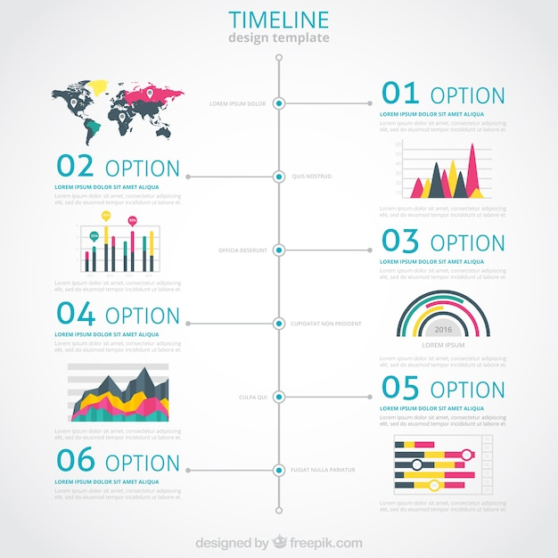 Infographic template wordpress