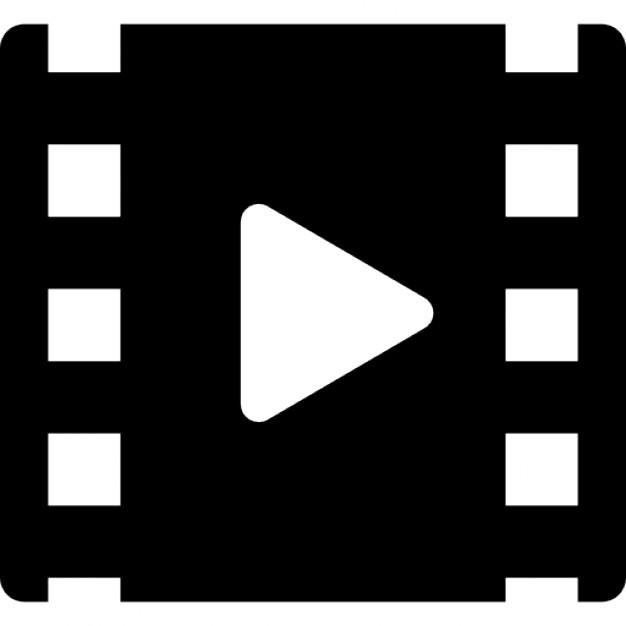 Bułka kino z symbolem gry Darmowe ikony