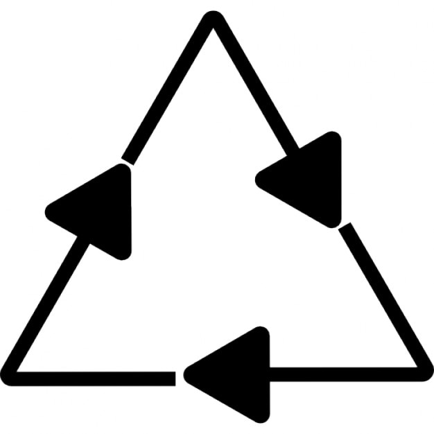 Images of Android Icon Triangle With 2 Arrows In It - #rock-cafe