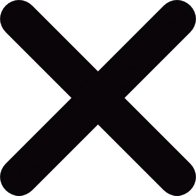 Litera X Ikony Darmowe Pobieranie