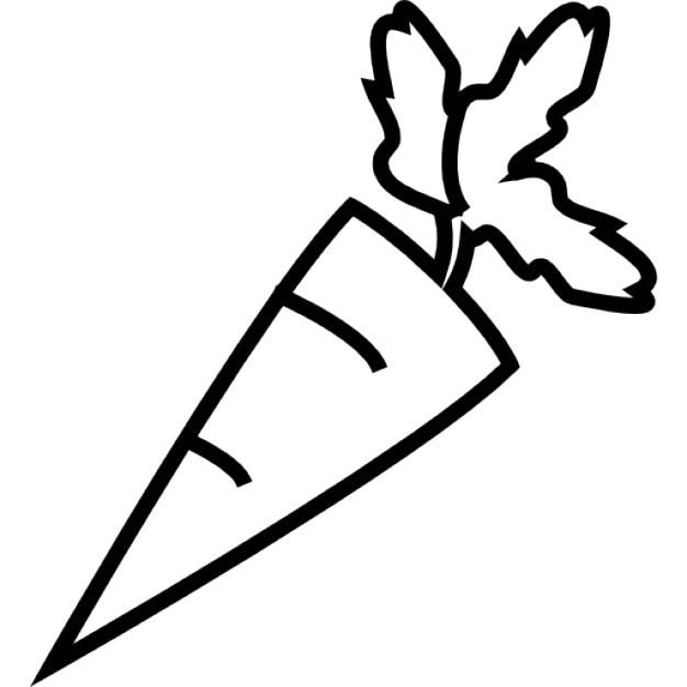Marchew Symbol Ios Interfejs Ikony Darmowe Pobieranie
