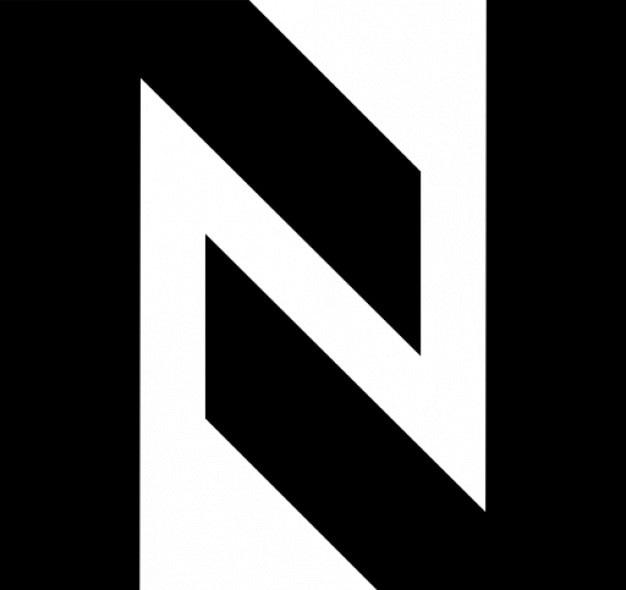 N Utworzone Przez Dwa Kąty Darmowe ikony