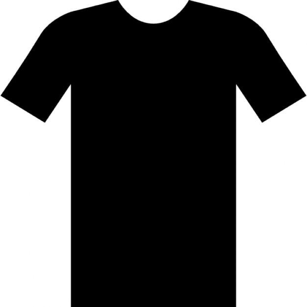 Proste t-shirt Darmowe ikony