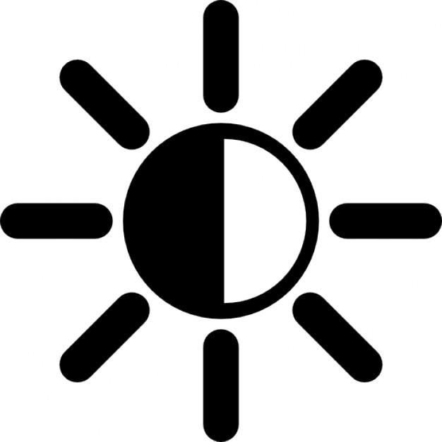 Regulacja Jasności Darmowe ikony