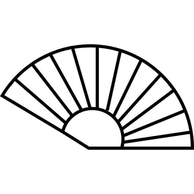 Wentylatora Konspektu IOS Symbol 7 Interfejsu Ikony