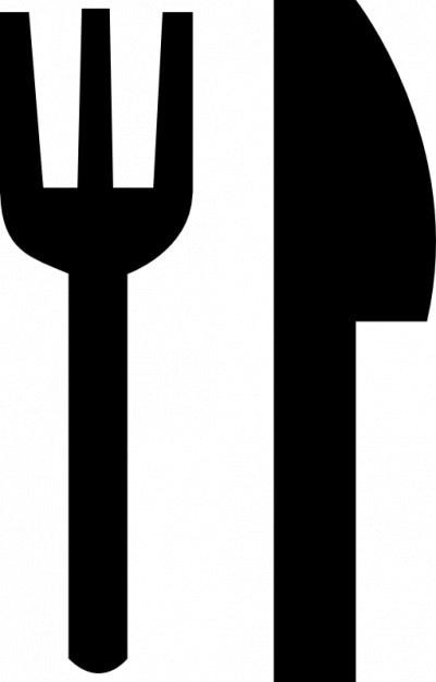 Widelec i nóż Darmowe ikony