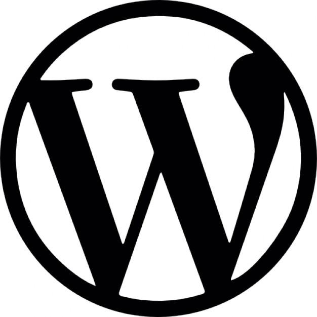 wordpress logo ikony darmowe pobieranie