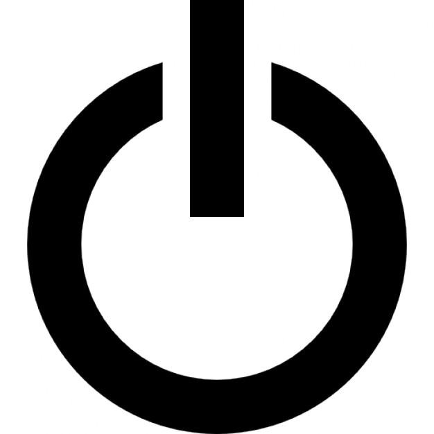 Wyłącznik zasilania konspektu Darmowe ikony